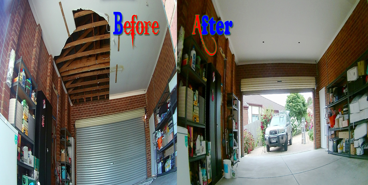 Garage Ceiling Repair Melbourne North South East West